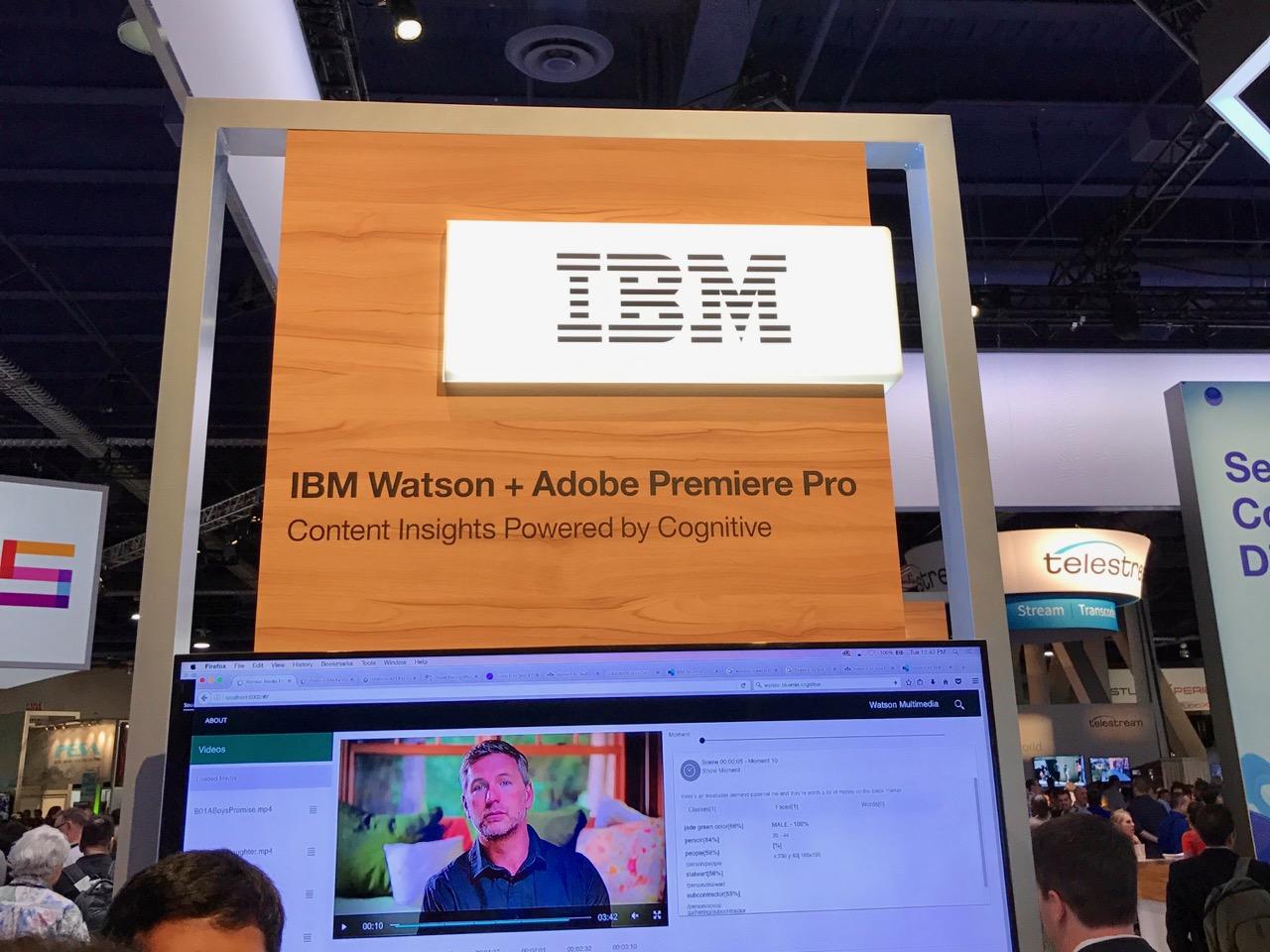 IBM Waston + Adobe Premiere