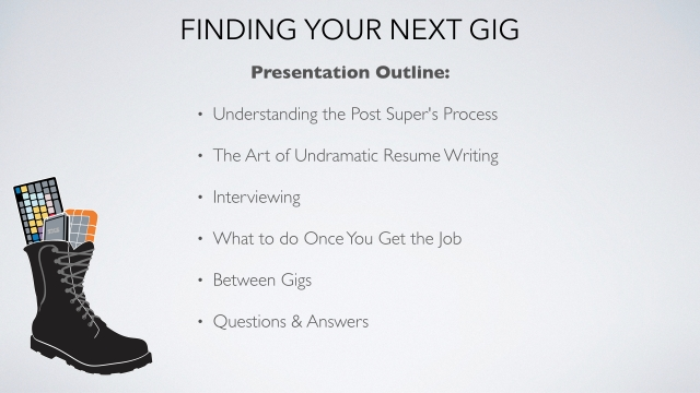 Finding Your Next Gig 1